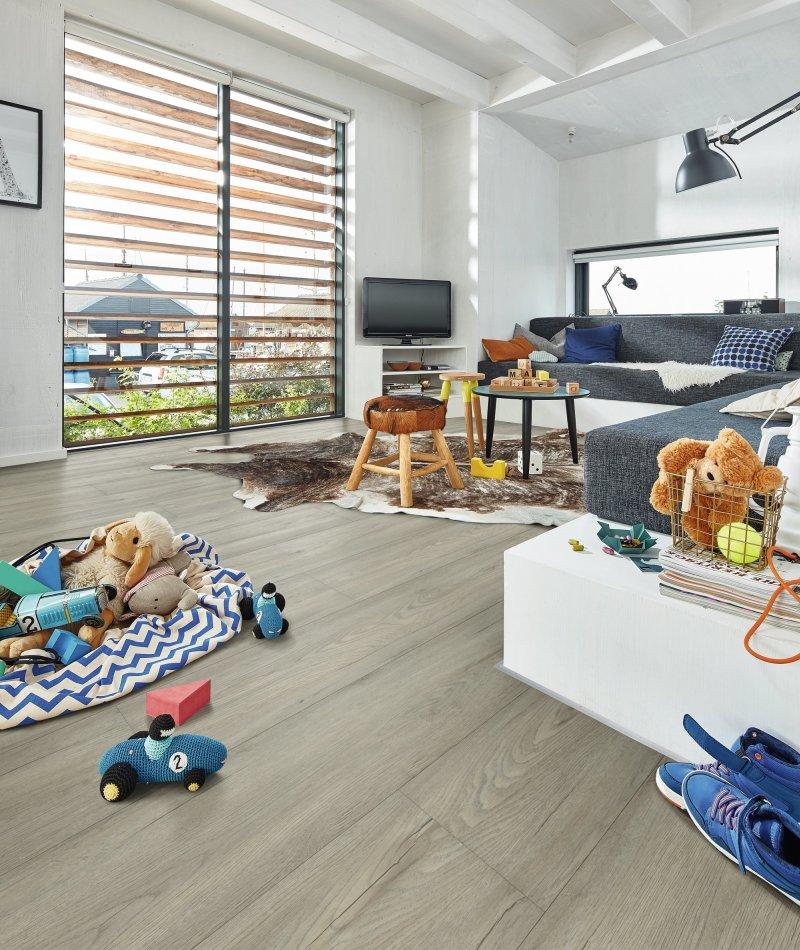 Badkamer met Meister Rigid Core PVC Vloer 7326 RD300S