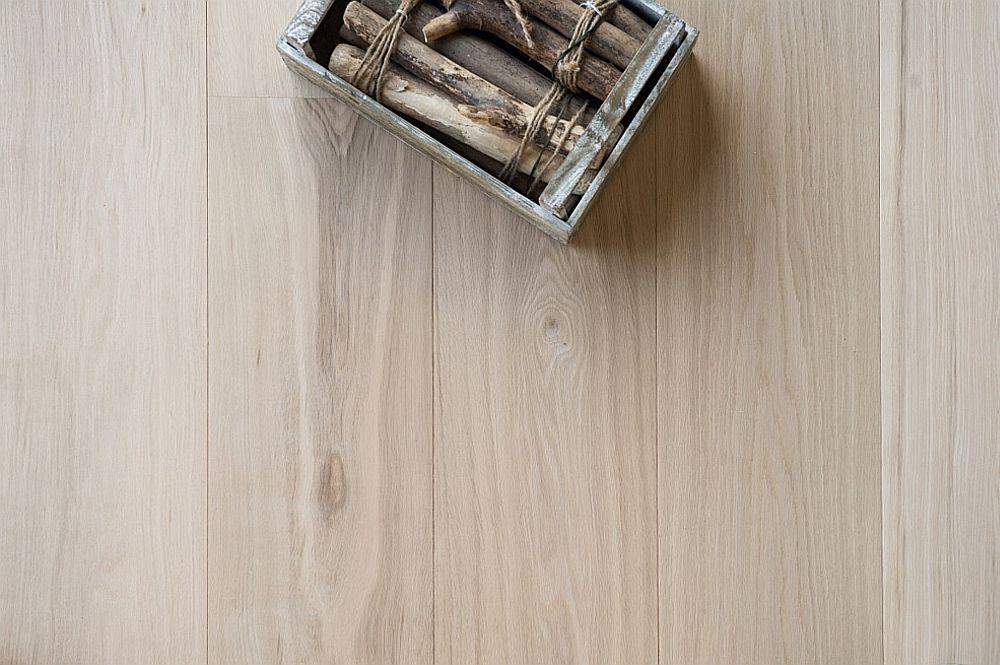 Houten vloer 7.1. - Onbehandelde eikenhouten lamelvloer - Riga Vloeren Amsterdam