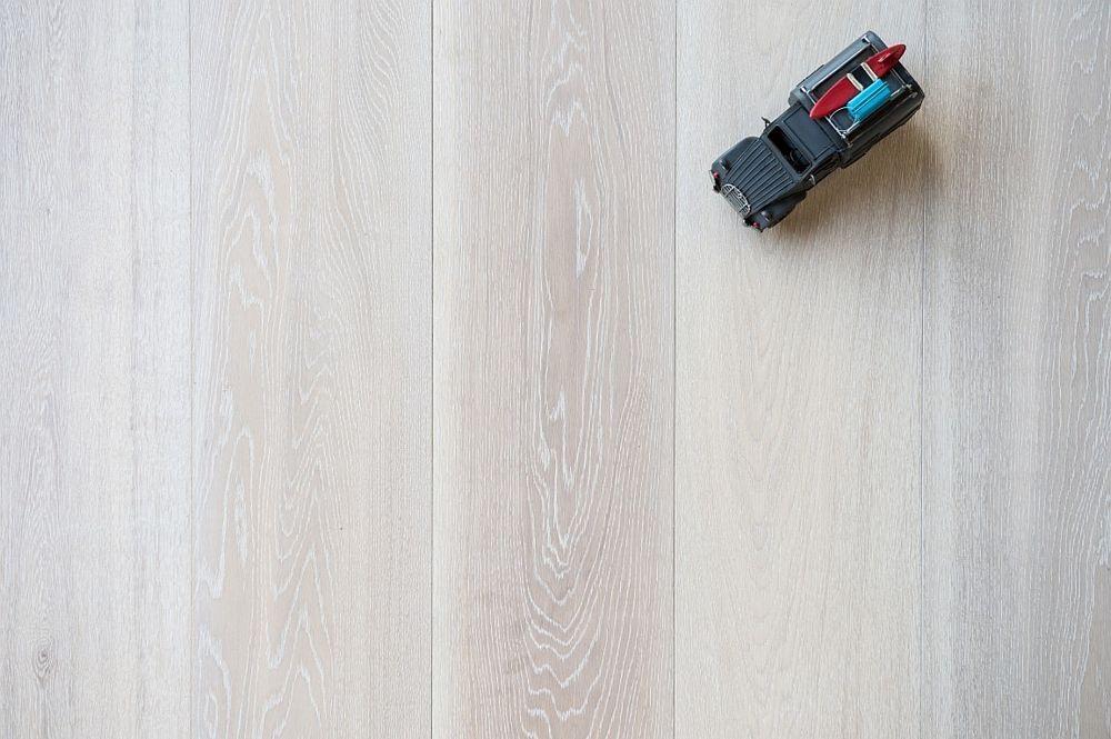 Eikenhouten vloer 9.1. - Wit geolied - Riga Vloeren Amsterdam