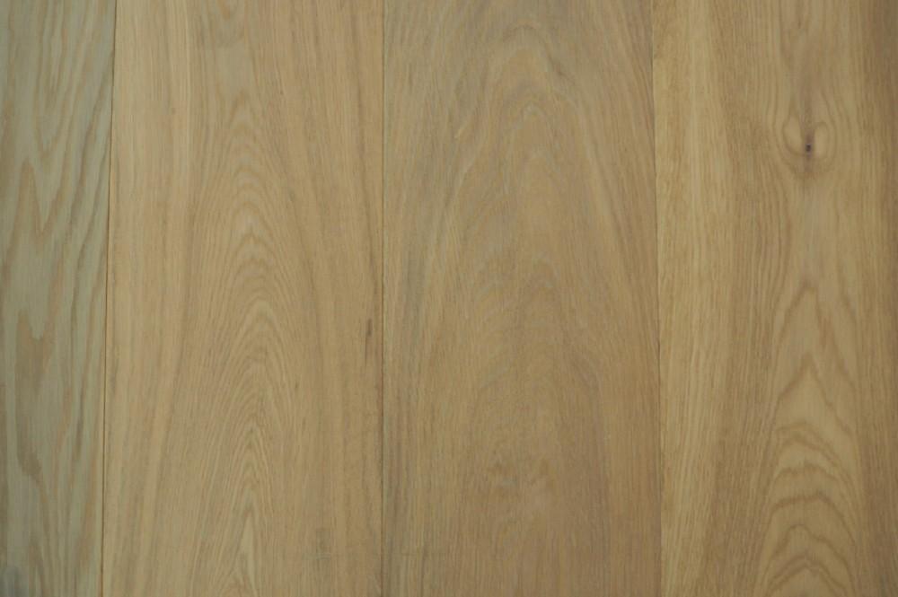 Houten vloer 3.1. Gerookt en wit geolied