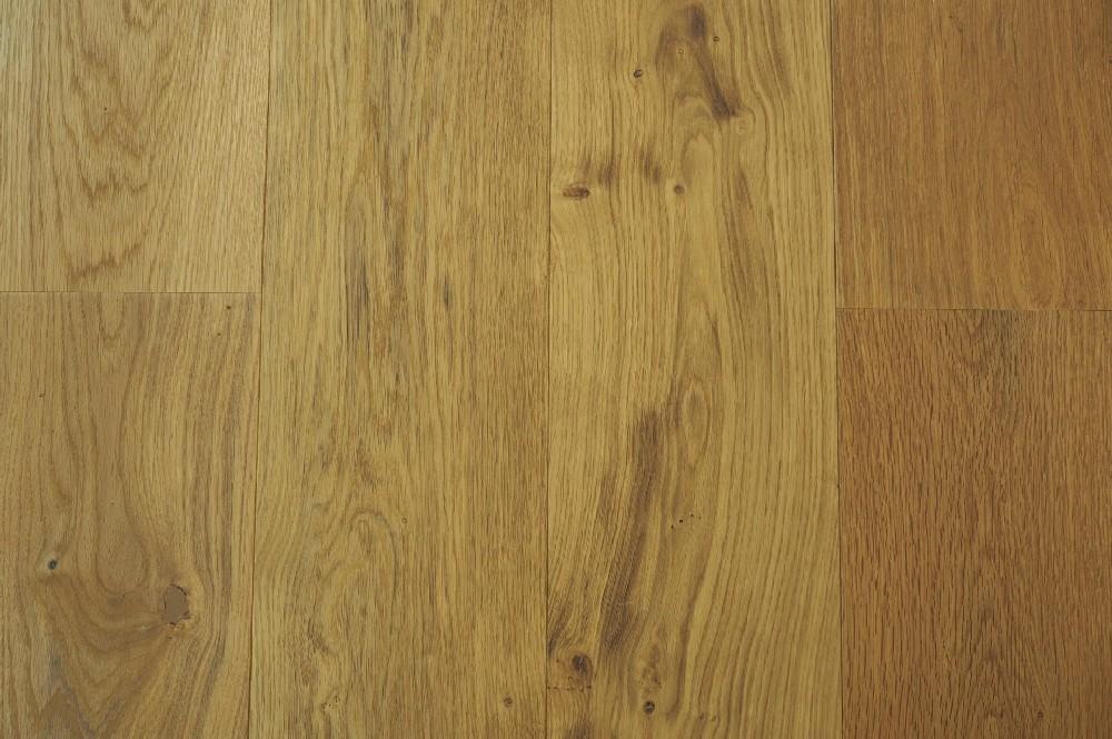 Vloer 6.2. Kleurloos geoliede eikenhouten vloer van Riga vloeren en kozijnen in Amsterdam