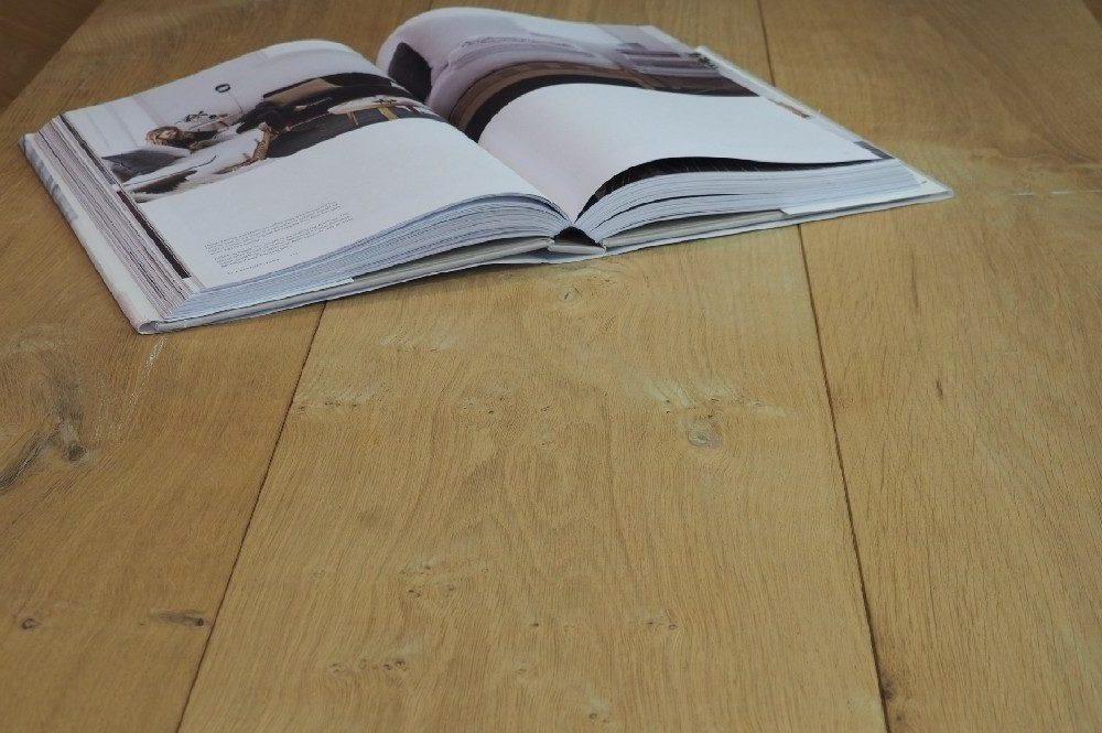 Vloer 8.2. Onbehandelde eikenhouten vloer van Riga vloeren en kozijnen in Amsterdam