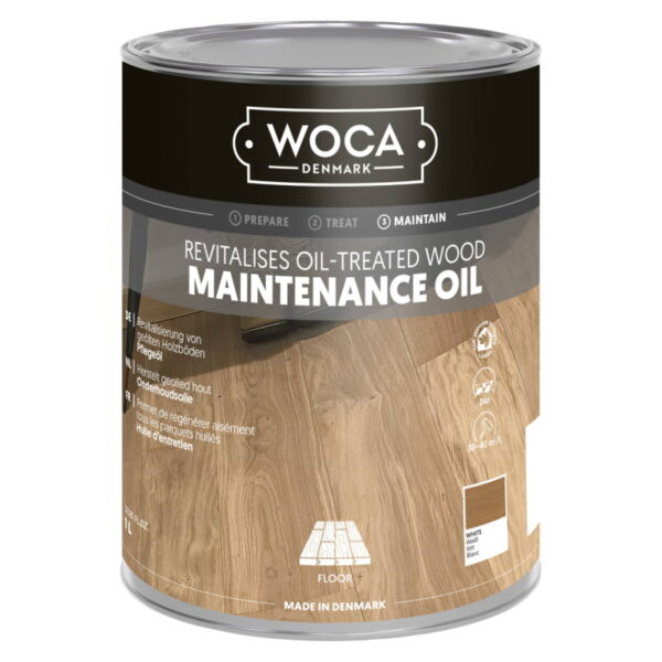 WOCA Onderhoudsolie Maintenance Oil Wit Riga