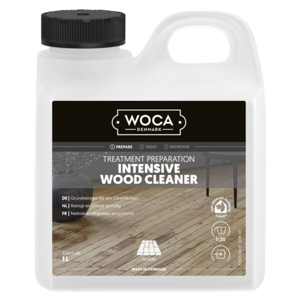 WOCA intensiefreiniger intensive wood cleaner 1L 551510A